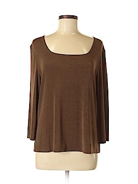 Kathy Ireland Long Sleeve Top Size XL