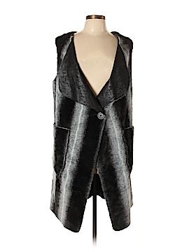 Nine West Faux Fur Vest Size M