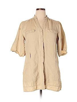 Ashley Stewart Short Sleeve Blouse Size 14