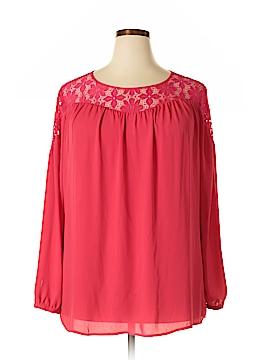 Sejour Long Sleeve Blouse Size 1X (Plus)