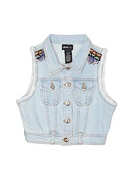 Girls Denim Vest Size 10 - 12