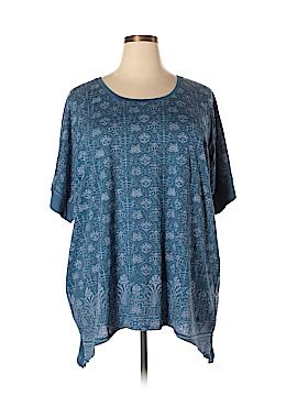 SONOMA life + style 3/4 Sleeve T-Shirt Size 2X (Plus)