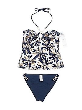 Badgley Mischka Two Piece Swimsuit Size 10