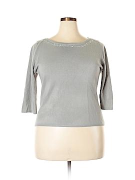 Hillard & Hanson Pullover Sweater Size 1X (Plus)