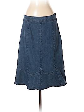Nicole by Nicole Miller Denim Skirt Size 4