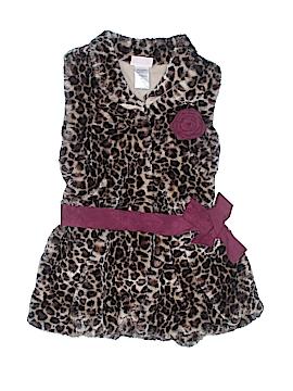 Little Lass Faux Fur Vest Size 10