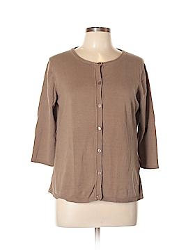 Coldwater Creek Silk Cardigan Size L