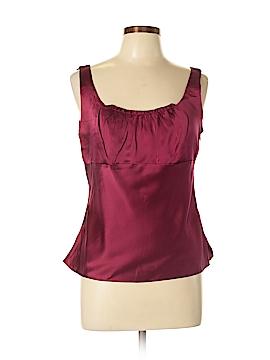 Tahari by ASL Sleeveless Silk Top Size 10