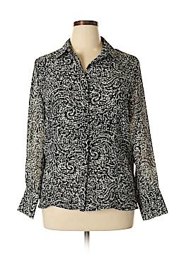 Nine & Company Long Sleeve Blouse Size 14