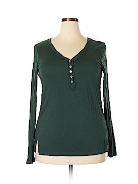 T.la Long Sleeve Henley Size XL