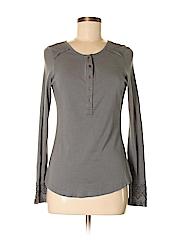 Aventura Women Long Sleeve Henley Size XS