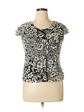 Judith Hart Short Sleeve Blouse Size 14 (Petite)