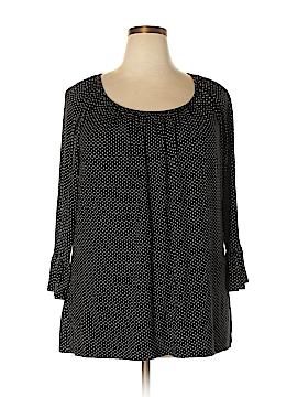 Croft & Barrow Long Sleeve Top Size 1X (Plus)