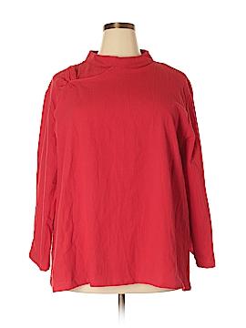 & Me... 3/4 Sleeve Blouse Size 5X (Plus)