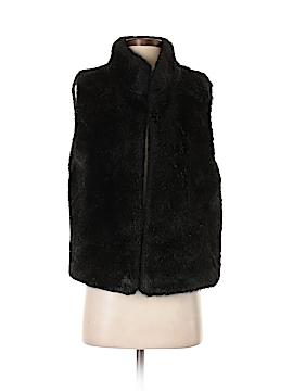 Valerie Stevens Faux Fur Vest Size Sm - Med