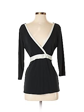 New York & Company 3/4 Sleeve Top Size S