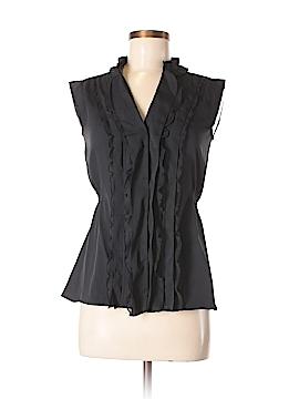 Converse One Star Sleeveless Button-Down Shirt Size S