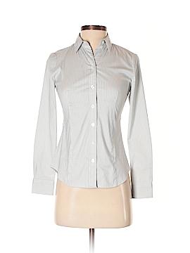 Ann Taylor Long Sleeve Button-Down Shirt Size 00 (Petite)