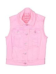 P.S. From Aeropostale Girls Denim Vest Size X-Small (Kids)