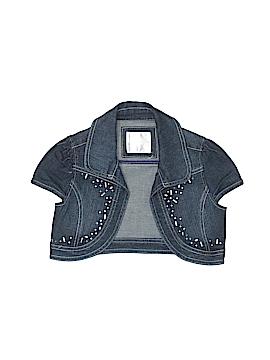 Justice Denim Jacket Size 8