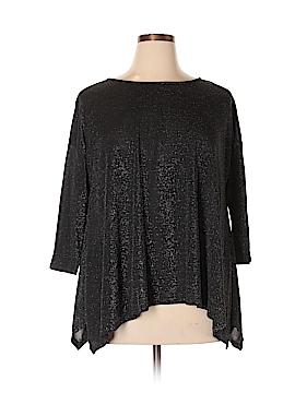 Catherine Malandrino 3/4 Sleeve Top Size XL