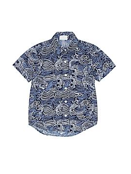 Crazy 8 Short Sleeve Button-Down Shirt Size 4
