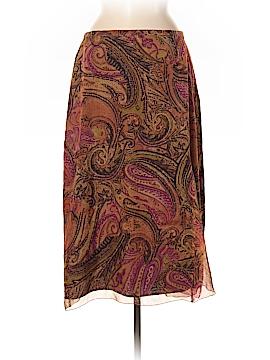 Marina Rinaldi Silk Skirt Size 10