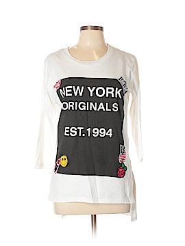 Bobbie Brooks 3/4 Sleeve T-Shirt Size L