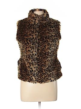 Say What? Faux Fur Vest Size L