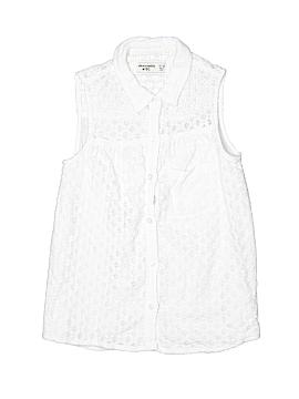 Abercrombie Sleeveless Button-Down Shirt Size 11 - 12