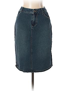 Coldwater Creek Denim Skirt Size 8 (Petite)