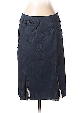 Versace Jeans Couture Denim Skirt 26 Waist