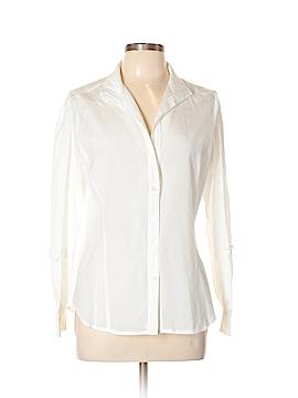 Etcetera Long Sleeve Button-Down Shirt Size 10
