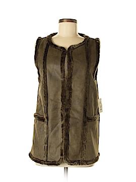 XXI Faux Fur Vest Size M