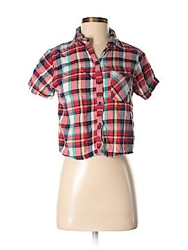 Margot Short Sleeve Button-Down Shirt Size S