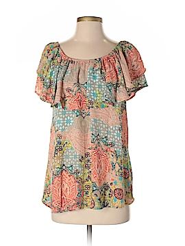GNW Short Sleeve Blouse Size M