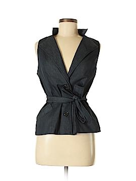 New York & Company Denim Vest Size M