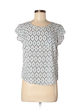 Cynthia Rowley for T.J. Maxx Short Sleeve Blouse Size M