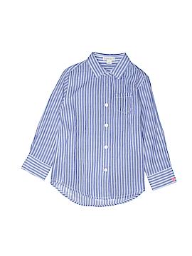 Crewcuts Long Sleeve Button-Down Shirt Size 4