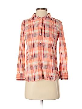 J. Crew Factory Store Long Sleeve Button-Down Shirt Size XXS (Petite)