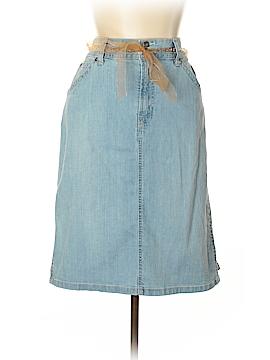 Gloria Vanderbilt Denim Skirt Size 16