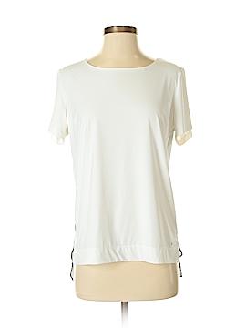 Blanc Noir Short Sleeve Top Size S