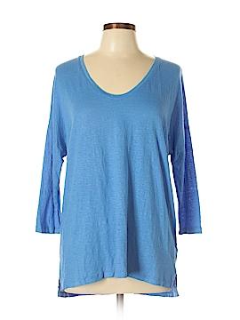 Majestic Filatures 3/4 Sleeve T-Shirt Size Lg (3)