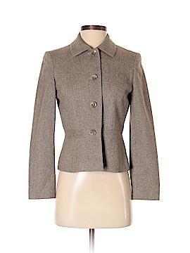 Ann Taylor LOFT Women Wool Coat Size 4 (Petite)
