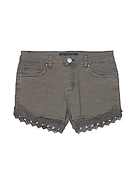 Tinsel Denim Couture Denim Shorts 28 Waist