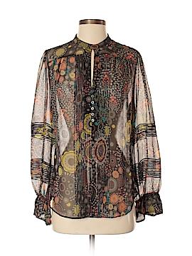 Robert Graham Long Sleeve Blouse Size S