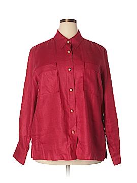 Ralph by Ralph Lauren Long Sleeve Button-Down Shirt Size 2X (Plus)