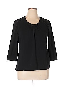 Croft & Barrow 3/4 Sleeve Top Size XL