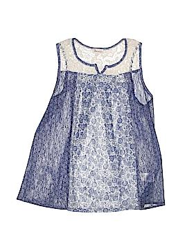 Ten Sixty Sherman Girls Sleeveless Blouse Size X-Large (Youth)
