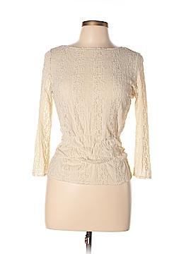 City DKNY 3/4 Sleeve Blouse Size M